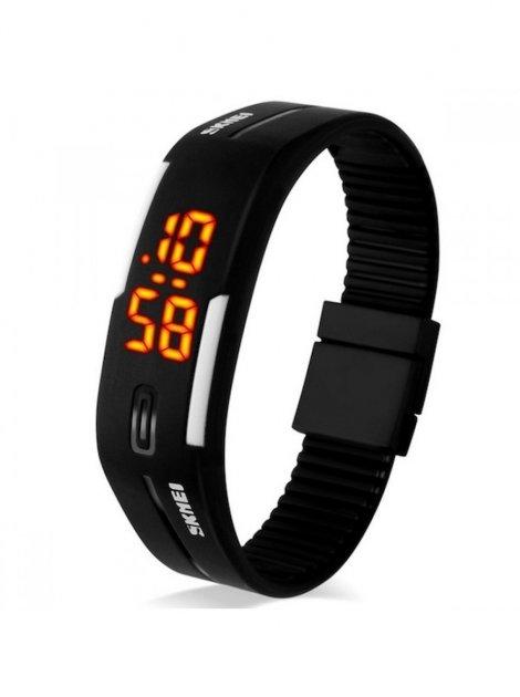 Спортивные LED часы Skmei 1099 Black (0419) - изображение 1