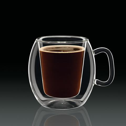 Набор чашек Luigi Bormioli Thermic Glass Supremo Coffee 300 мл 2 шт (10973/01) - изображение 1