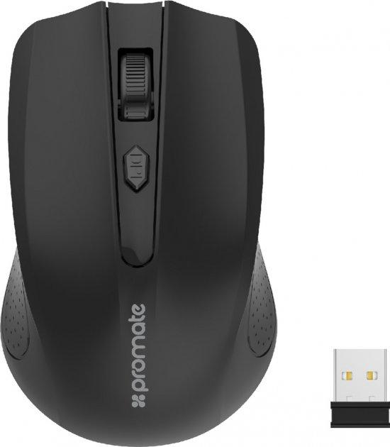 Мышь Promate Clix-8 Wireless Black (clix-8.black) - изображение 1