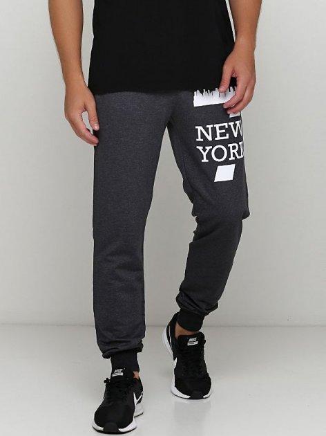 Спортивные штаны Malta М488-13-П2 New York L (50) Темно-серые (2901000260846_mlt) - изображение 1