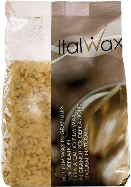 Пленочный воск для депиляции ItalWax Натуральный в гранулах 1000 г (8032835163133) - изображение 1