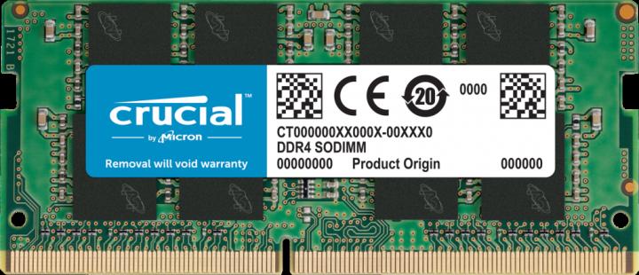 Оперативная память Crucial SODIMM DDR4-3200 16384MB PC4-25600 (CT16G4SFRA32A) - изображение 1