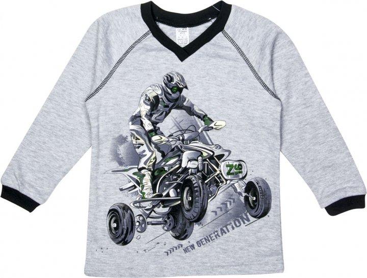 Пуловер Z16 3ІН108-3 (2-130) 140 см Серый (31010832130140) - изображение 1