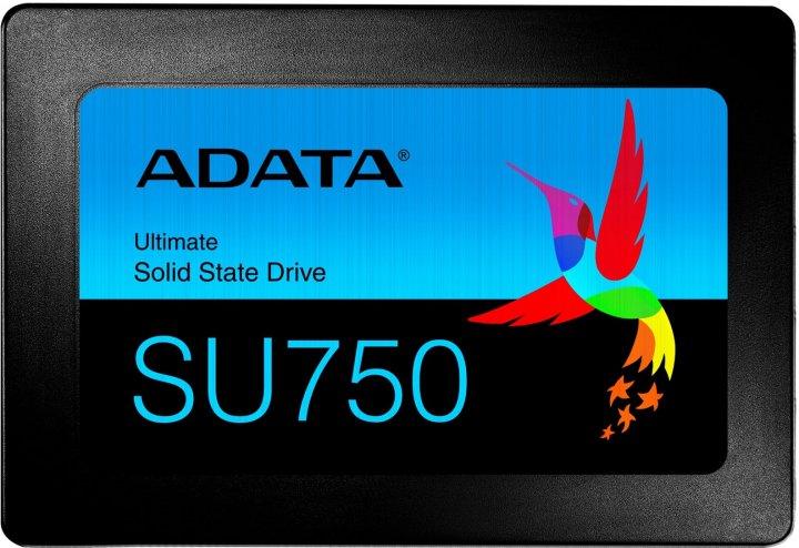 "ADATA Ultimate SU750 512GB 2.5"" SATA III 3D NAND TLC (ASU750SS-512GT-C) - зображення 1"