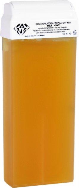 Воск для депиляции BRINail Zinc Oxide Turquoise в картридже 100 мл (2142393100214) - изображение 1