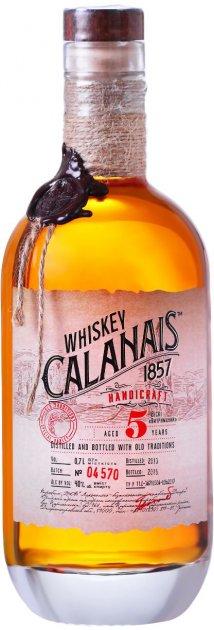 Виски Calanais Выдержанный 0.7 л 40% (4820136354343) - изображение 1