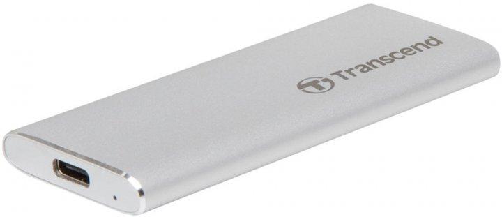 Transcend ESD240C 240GB USB 3.1 Type-C 3D NAND TLC (TS240GESD240C) External - зображення 1
