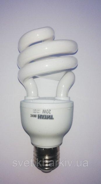 Энергосберегающая лампа Титан 20W E27 - зображення 1