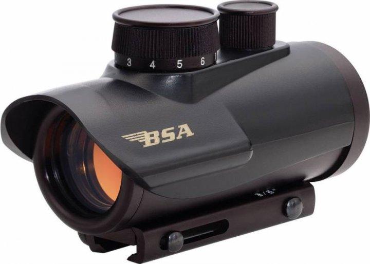 Коліматорний приціл BSA-Optics Red Dot RD30 (BRD30) - зображення 1