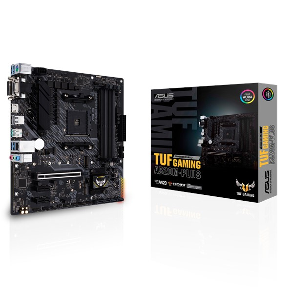 Материнская плата Asus TUF Gaming A520M-Plus Socket AM4 - изображение 1