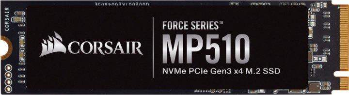 Corsair Force Series MP510 960GB NVMe M.2 2280 PCIe 3.0 x4 3D NAND TLC (CSSD-F960GBMP510B) - зображення 1