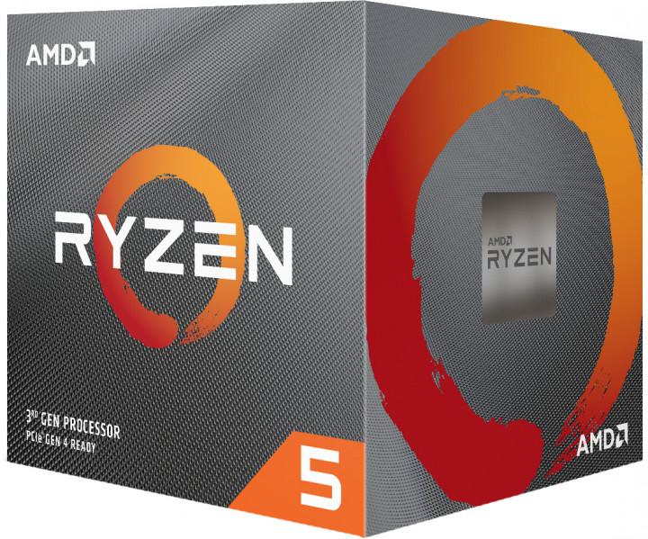 Процессор AMD Ryzen 5 3600X 3.8GHz / 32MB (100-100000022BOX) sAM4 BOX - изображение 1