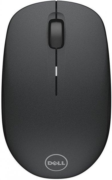 Мышь Dell WM126 Wireless Optical Black (570-AAMH) - изображение 1