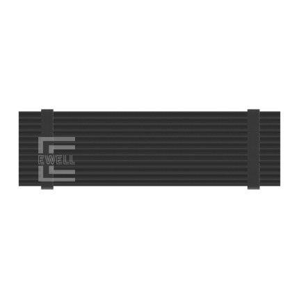 Радіатор Ewell для M. 2 NVMe SSD, black (EW330) - зображення 1