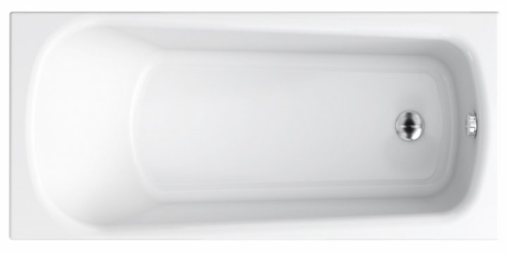 Ванна CERSANIT Nao ABS 160x70 + ніжки PW01/S906-001 - зображення 1