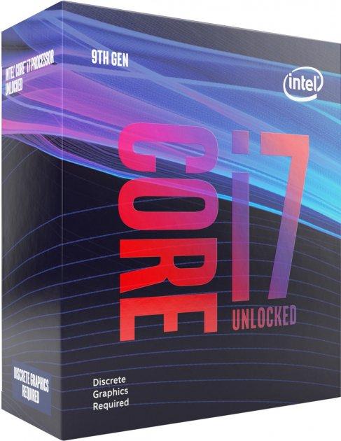 Процесор Intel Core i7-9700KF 3.6GHz/8GT/s/12MB (BX80684I79700KF) s1151 BOX - зображення 1