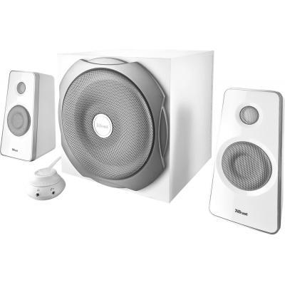 Акустична система Trust Tytan 2.1 Subwoofer Speaker Set - white (18789) - зображення 1