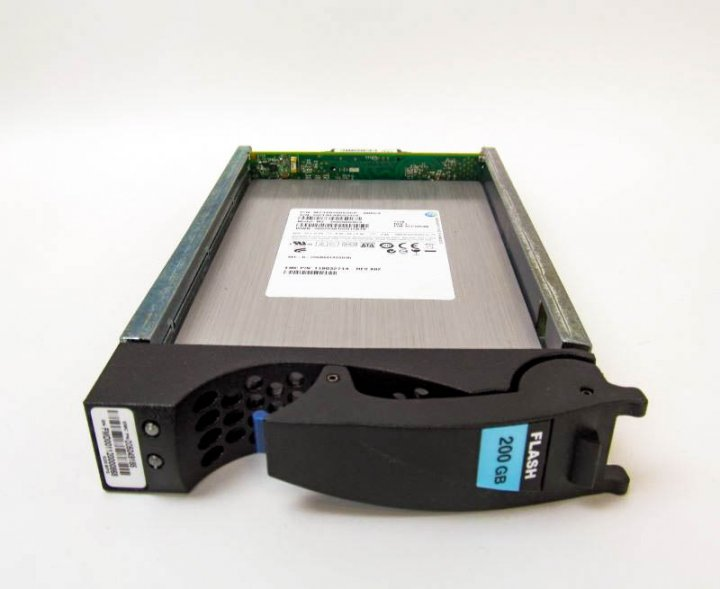 SSD EMC 200GB 3.5 in SAS SSD for VNX (V3-VS6F-200) Refurbished - зображення 1