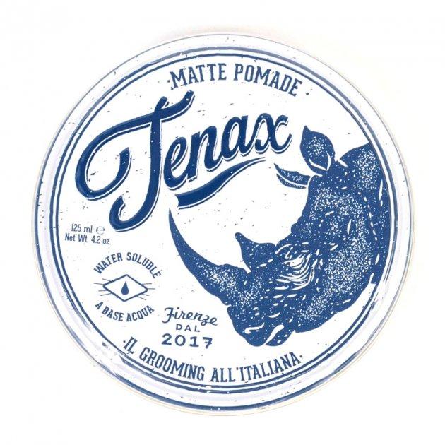 Матова моделююча помада на водяній основі Tenax Hair Matte Pomade Strong Hold 125 мл - зображення 1
