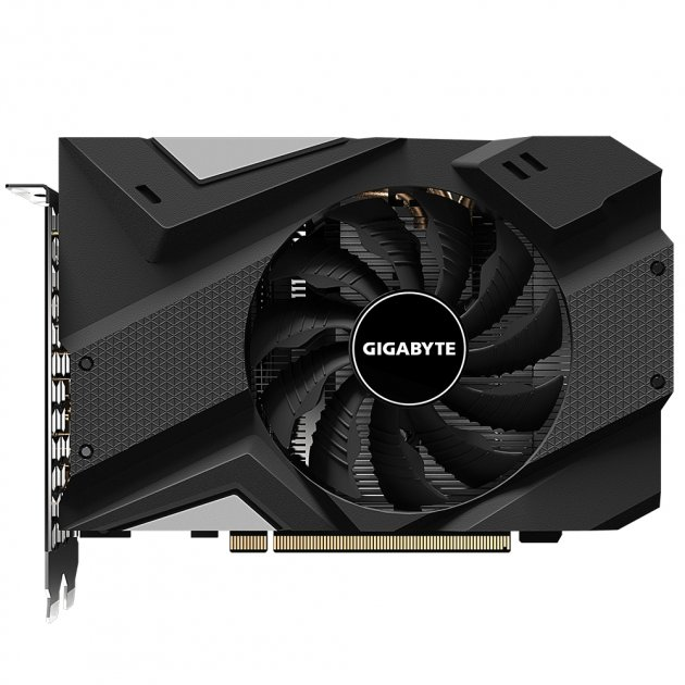Відеокарта GIGABYTE GeForce RTX2060 6GB DDR6 192bit DPx3-HDMI MINI ITX (GV-N2060IX-6GD) - зображення 1