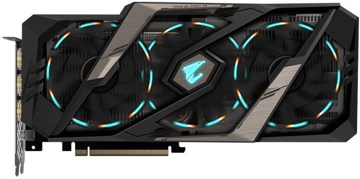 Відеокарта Gigabyte GeForce RTX2080 Ti 11G AORUS (GV-N208TAORUS-11GC) - изображение 1