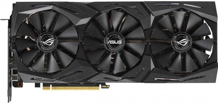 Відеокарта Asus GeForce RTX2070 SUPER 8GB GDDR6 GAMING STRIX OC (STRIX-RTX2070S-O8G-ГАМ) - зображення 1