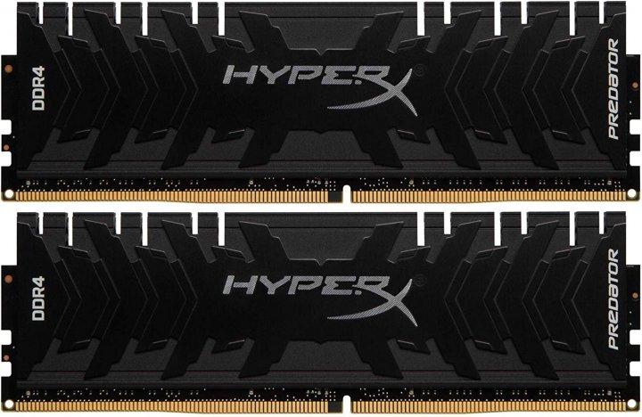 Оперативна пам'ять HyperX DDR4-3600 32768MB PC4-28800 (Kit of 2x16384) Predator (HX436C17PB3K2/32) - зображення 1