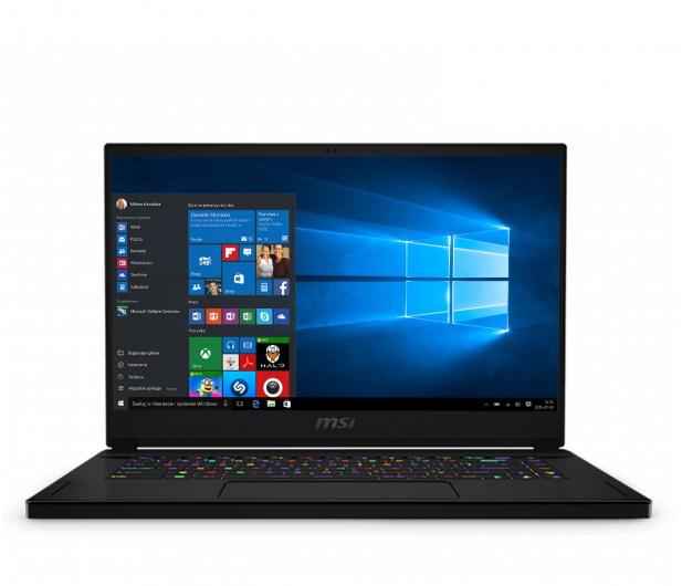 Ноутбук MSI GS66 i9-10980HK/32GB/2TB/Win10P RTX2080 Super - зображення 1