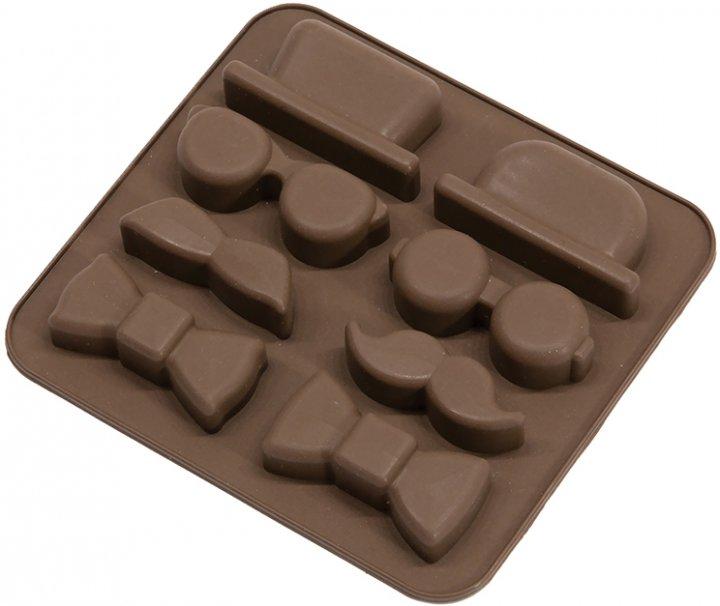 Силиконовая форма для шоколада MYS Детектив Коричневая (MYS-41175) - изображение 1