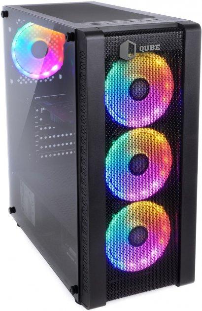 Комп'ютер QUBE Ryzen 5 3600 RTX 2060 6GB 1621 (QB0028) - зображення 1