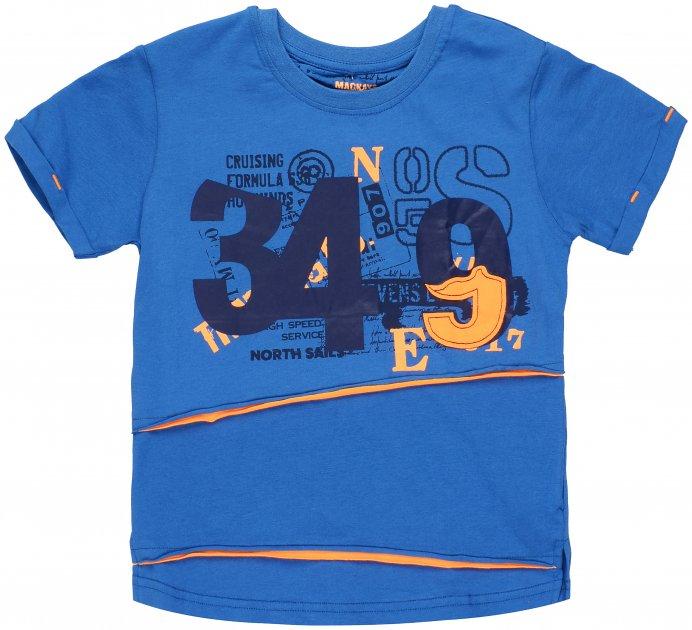 Футболка Mackays 2651-005 122-128 см Синяя (ROZ6205088389) - изображение 1