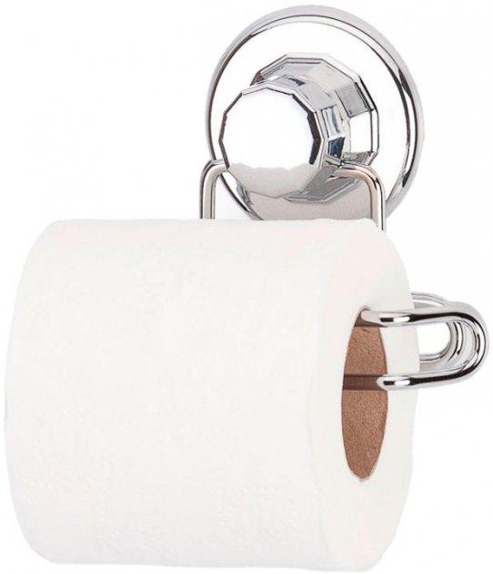 Тримач для туалетного паперу на вакуумному присоску TEKNO-TEL DM271 - зображення 1