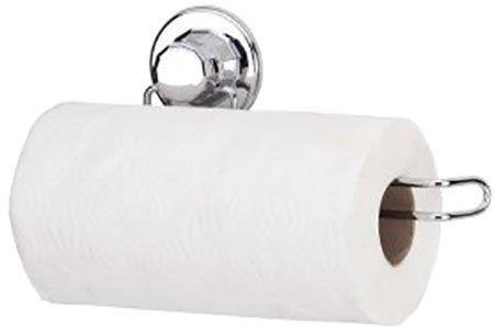 Тримач для паперових рушників на вакуумному присоску TEKNO-TEL DM272 - зображення 1