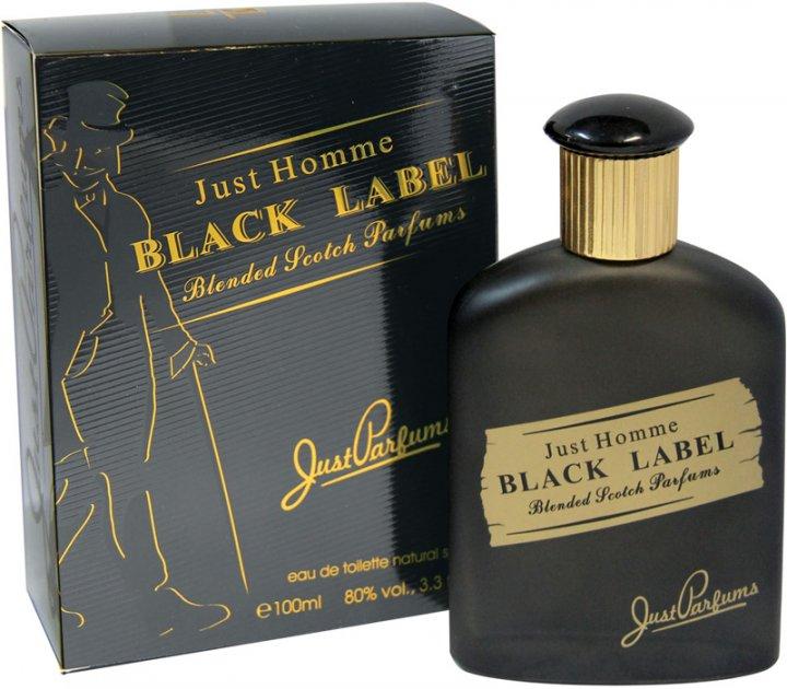 Туалетная вода для мужчин Just Parfums Whisky Black Label Edt 100 мл (8903386004629) - изображение 1
