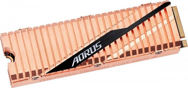 Gigabyte Aorus NVMe Gen4 SSD 500GB M. 2 2280 NVMe PCIe 4.0 x4 3D NAND TLC (GP-ASM2NE6500GTTD) (WY36dnd-245435) - зображення 1