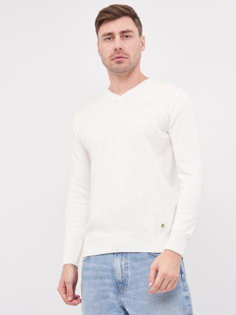 Пуловер Hugo Boss 10397.4 XL (50) Білий - зображення 1