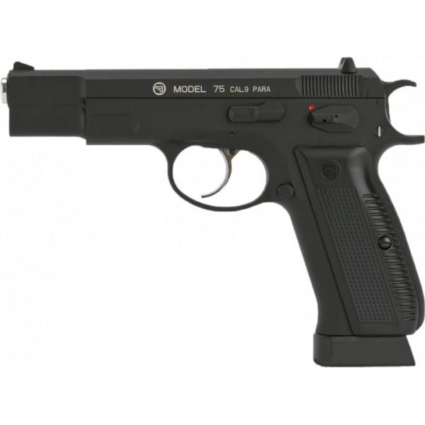 Пистолет пневм. ASG CZ 75 Blowback, 4,5 мм - зображення 1