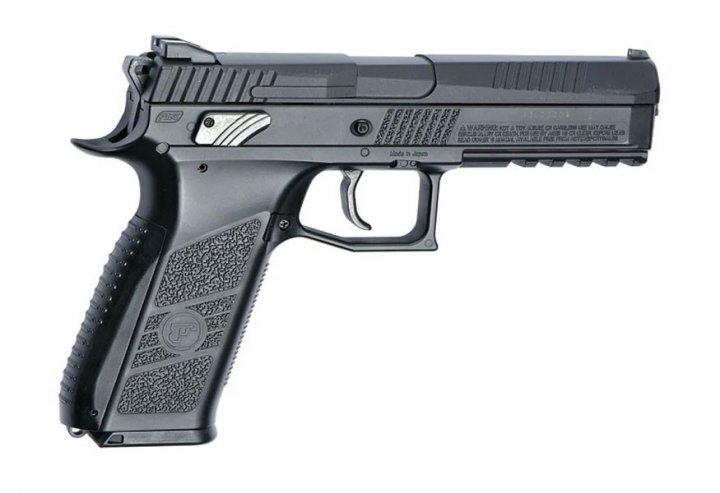 Пистолет пневм. ASG CZ P-09 Pellet Blowback, 4,5 мм - зображення 1
