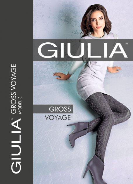 Колготки Giulia Gross Voyage (2) 200 Den Iron (4820040317960) - изображение 1
