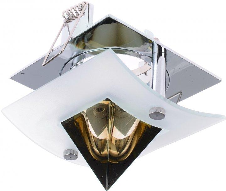 Світильник точковий Brille HDL-DS 60 CHR/Brown (163901) - зображення 1