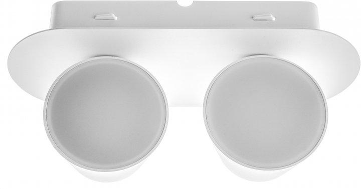 Підсвітка Brille AL-508/2х6W LED WH (27-008) - зображення 1