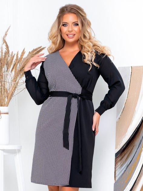 Платье New Fashion 105 54 Черно-белое (2000000489407) - изображение 1