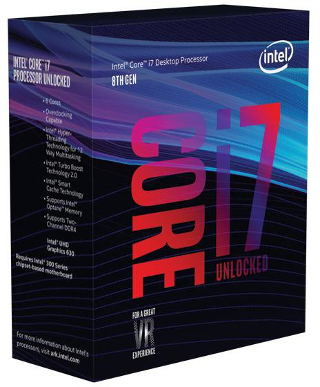 Процесор Intel Core i7-8700K 3.7 GHz/8GT/s/12MB (BX80684I78700K) s1151 BOX - зображення 1