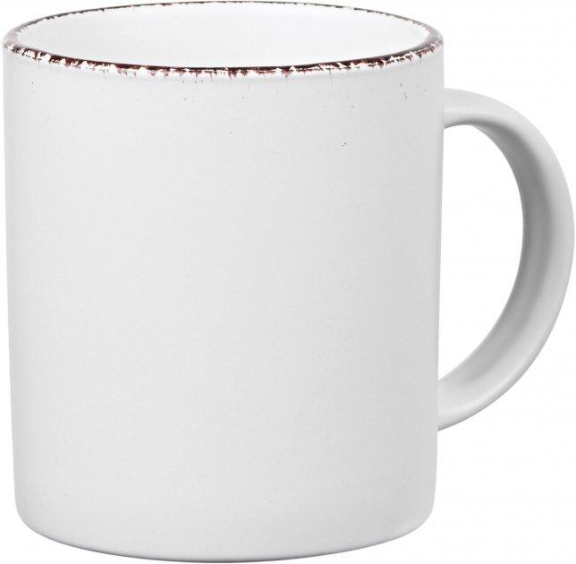 Чашка Ardesto Lucca Winter white Белый 360 мл (AR2936WMC) - изображение 1