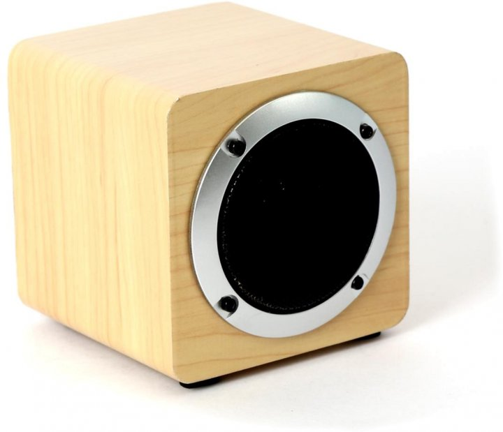 Акустическая система Omega OG61W Wood Bluetooth V4.2 TWS Brown (OG61W) - изображение 1