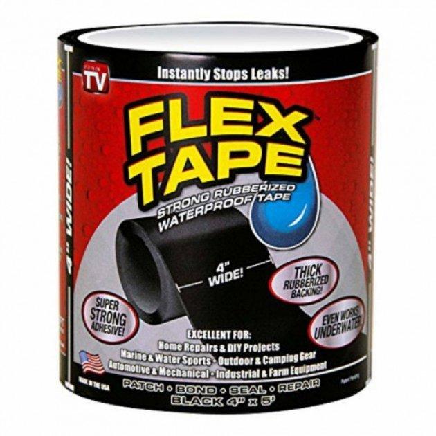 Водонепроницаемая изоляционная лента Flex Tape 10 х 150 - изображение 1