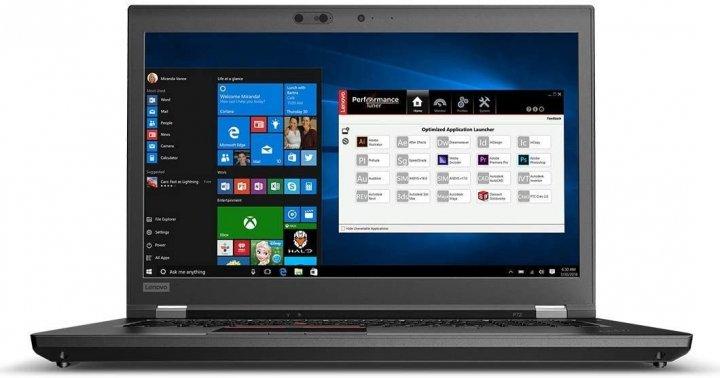 Ноутбук Lenovo ThinkPad P73 WORKSTATION (20QR003HUS) BLACK - refurbished - зображення 1