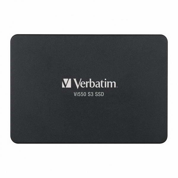 """SSD 256GB Verbatim SSD Vi550 S3 2.5"""" SATAIII 3D NAND TLC (49351) - зображення 1"""
