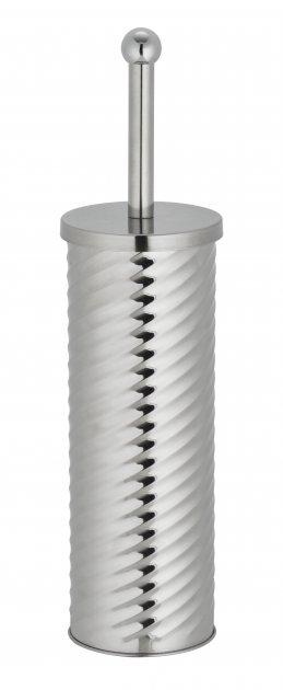 Ершик для унитаза Eco Fabric СПИРАЛЬ, нержавеющая сталь (TRL2404-D) - изображение 1