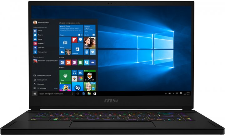 Ноутбук MSI GS66 Stealth 10SE (GS6610SE-442US) - зображення 1